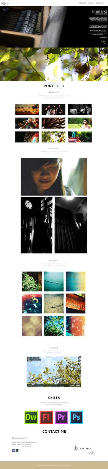 Angelo Gomez - Portfolio Site