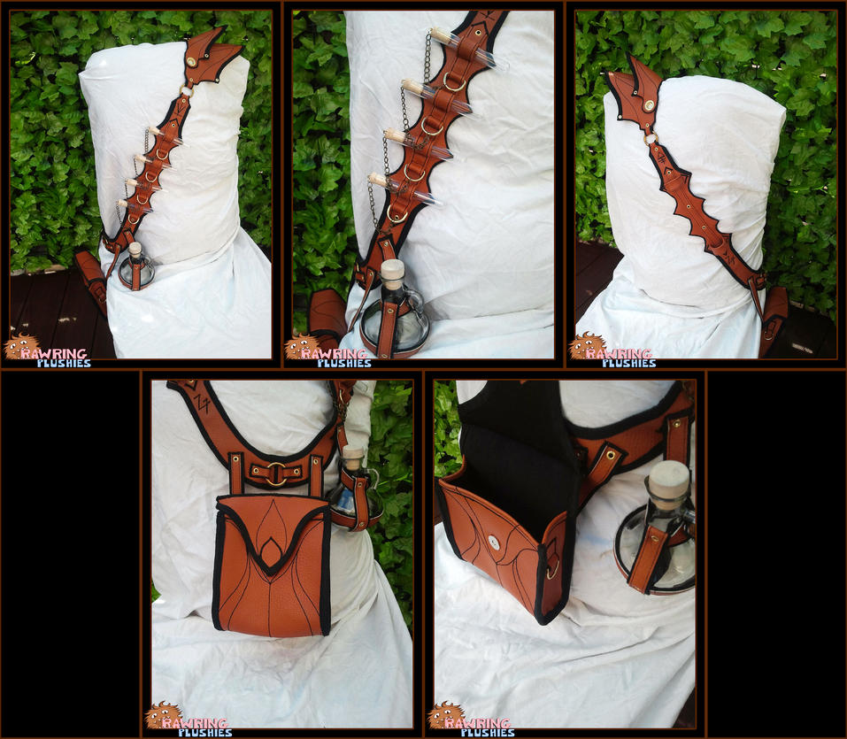 The Alchemist's Bandolier MK2 by RawringCrafts