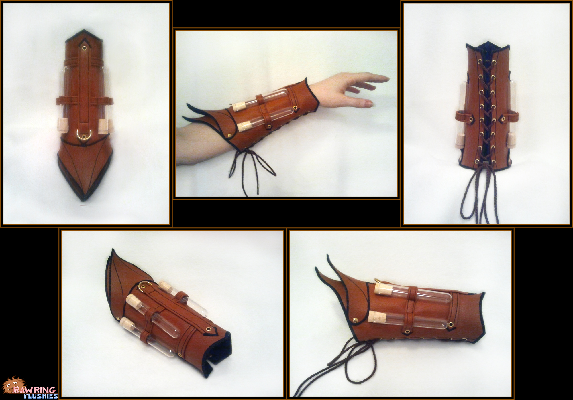 The Alchemist's Bracer by RawringCrafts