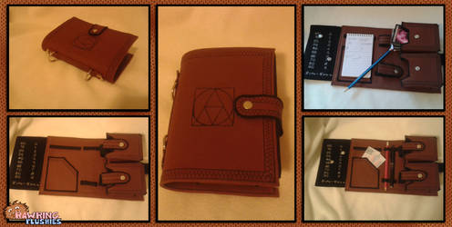 Card Holder Booklet - Prototype by RawringCrafts