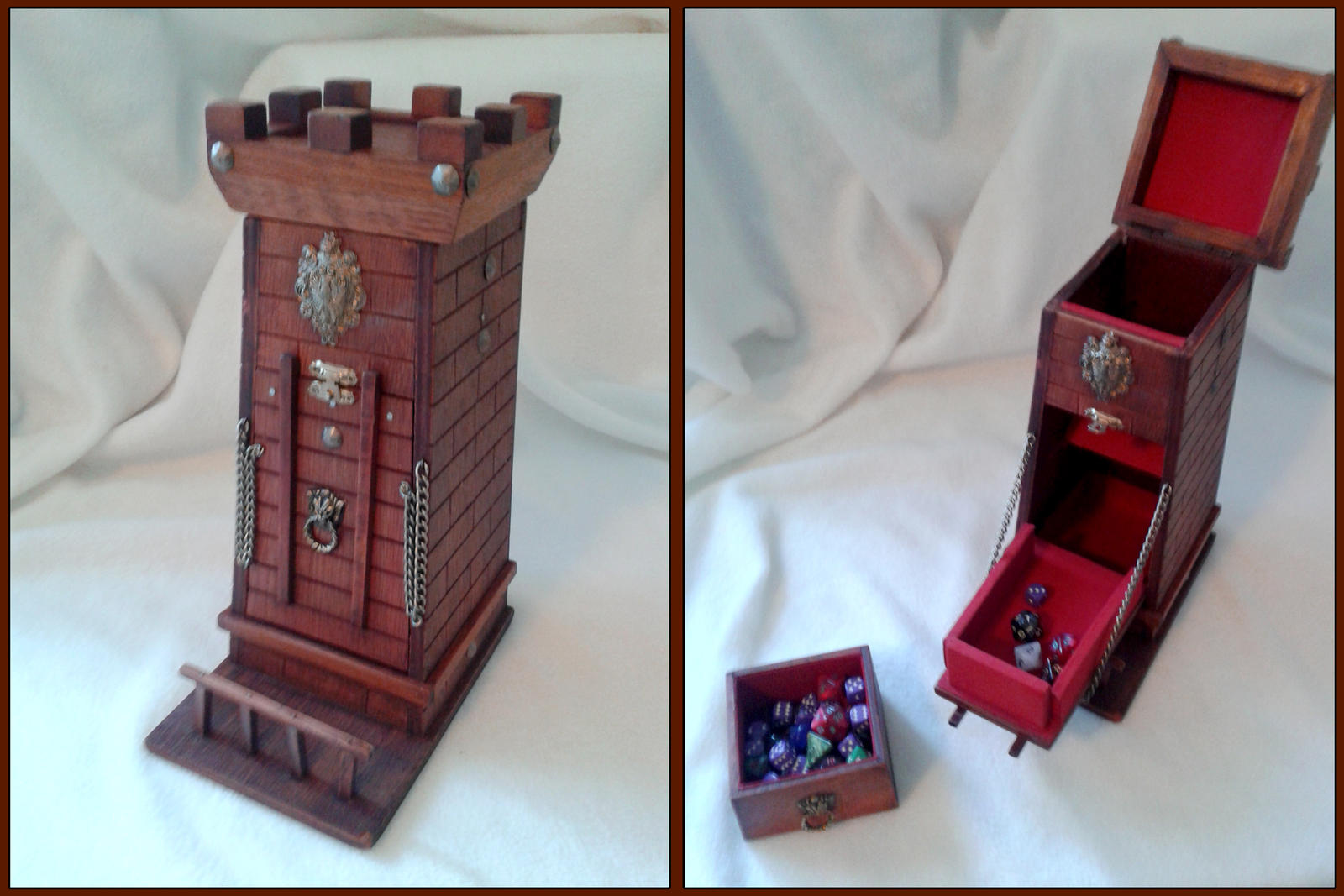 Dice Siege Tower by RawringCrafts