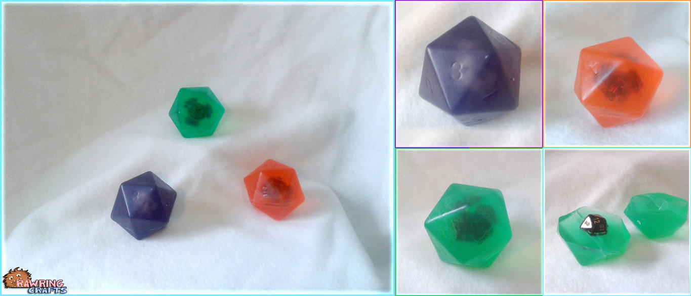 D20 Soap - Critically Clean! by RawringCrafts