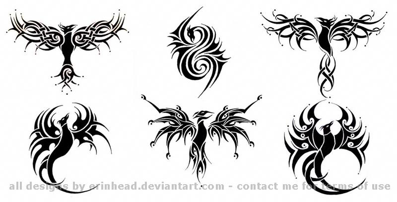 My phoenix tattoos by erinhead on deviantart for Aztec tattoo shop phoenix az