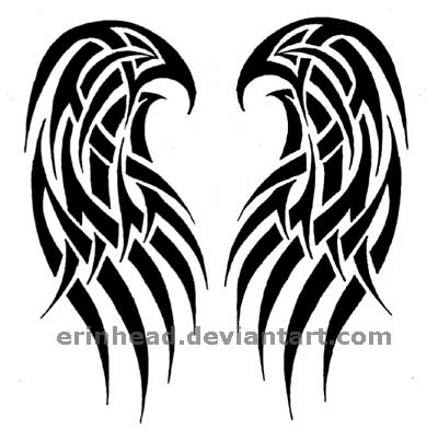 Angels Wings Tattoo on Angel Wings Tattoo By  Erinhead On Deviantart