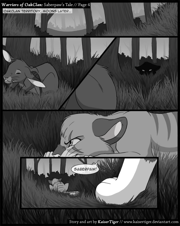 Warriors Of OakClan : Page 4 By KaiserTiger On DeviantArt