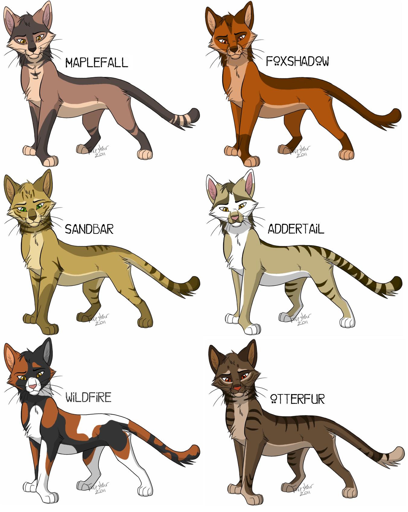 Cat adopts: batch 2 ALL SOLD by KaiserTiger on DeviantArt