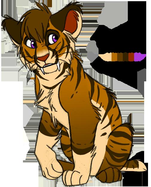 Character design: Smilodon by KaiserTiger