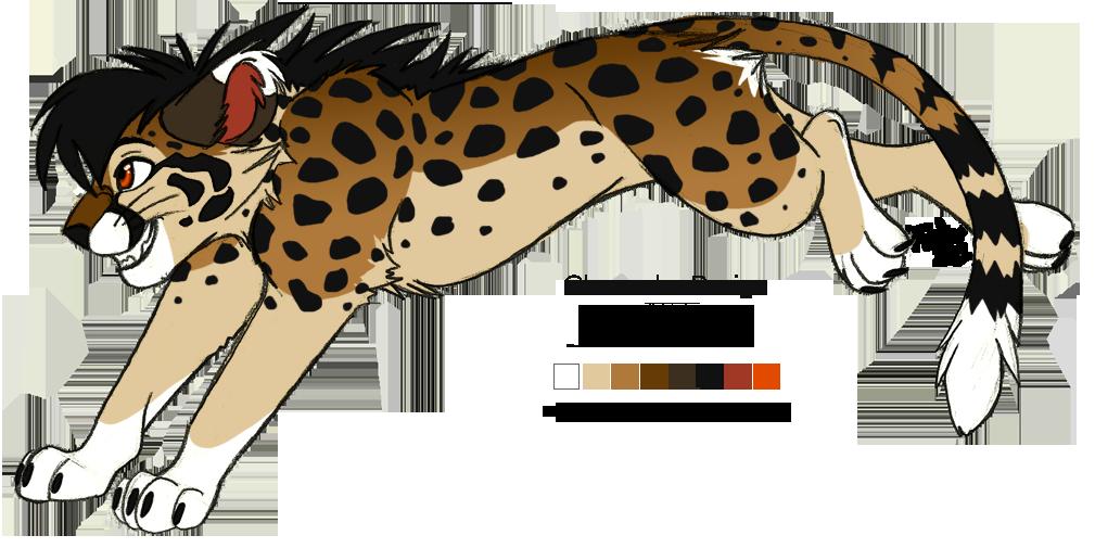 Character design: Cheetah by KaiserTiger