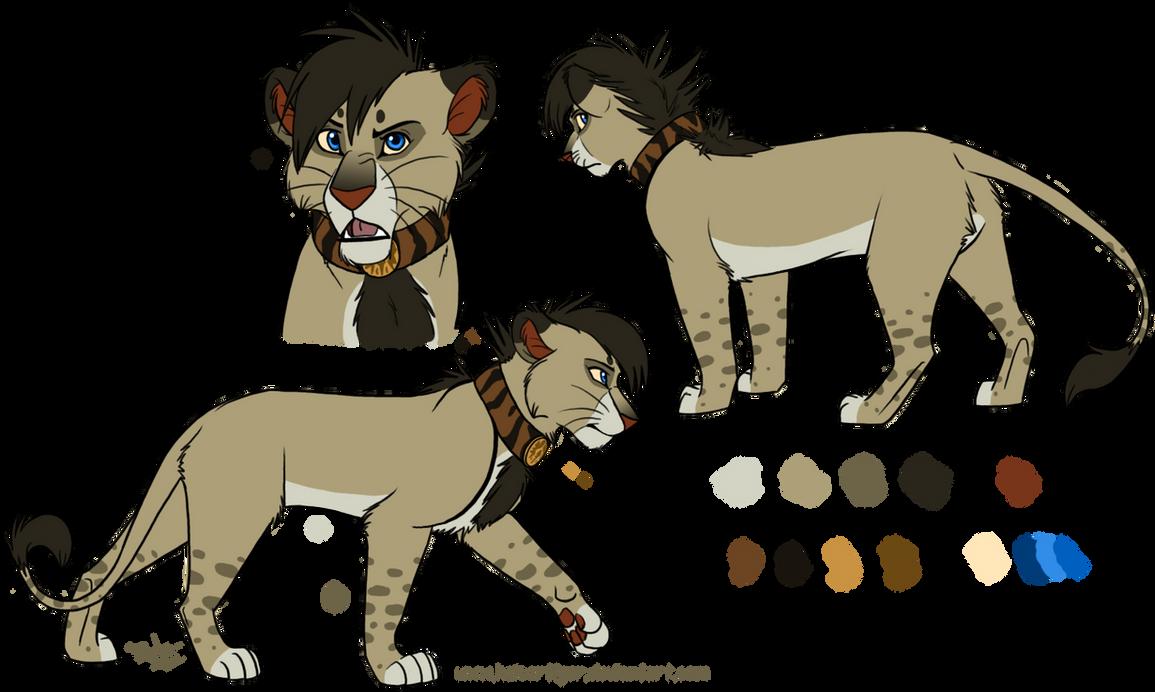 Lion design -commish- by KaiserTiger