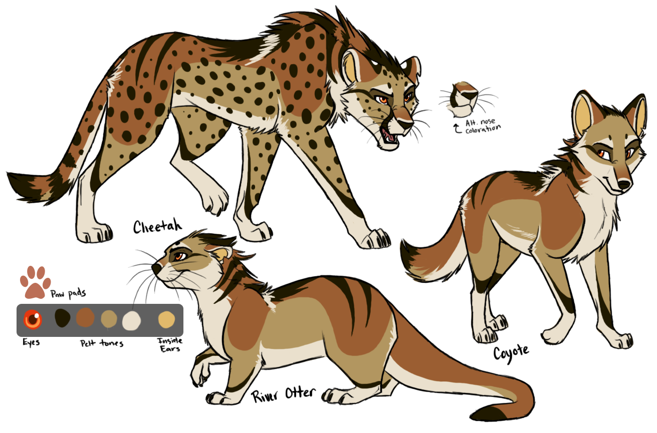 Design commish: little-bash by KaiserTiger