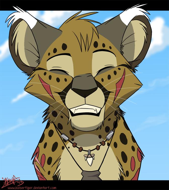 Smile, cheetah! by KaiserTiger
