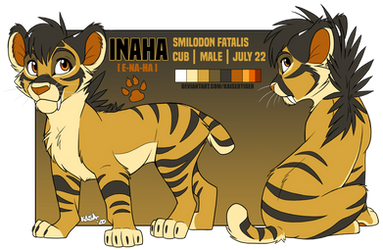 Inaha '20 character ref