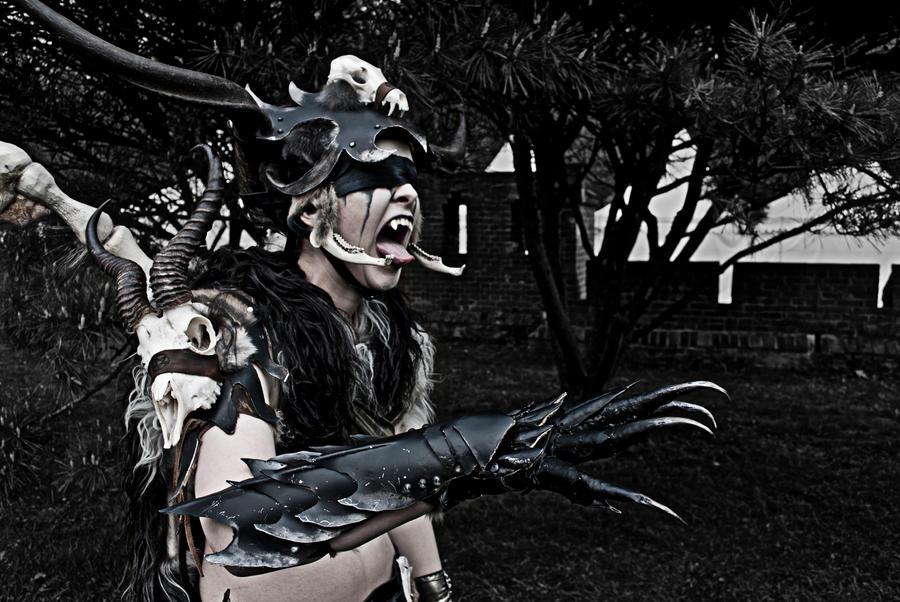 Demon Hunter by Valkyria-Art
