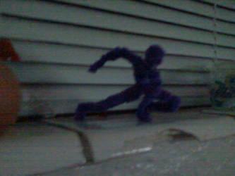 dark purple costume spiderman by jetblaze42