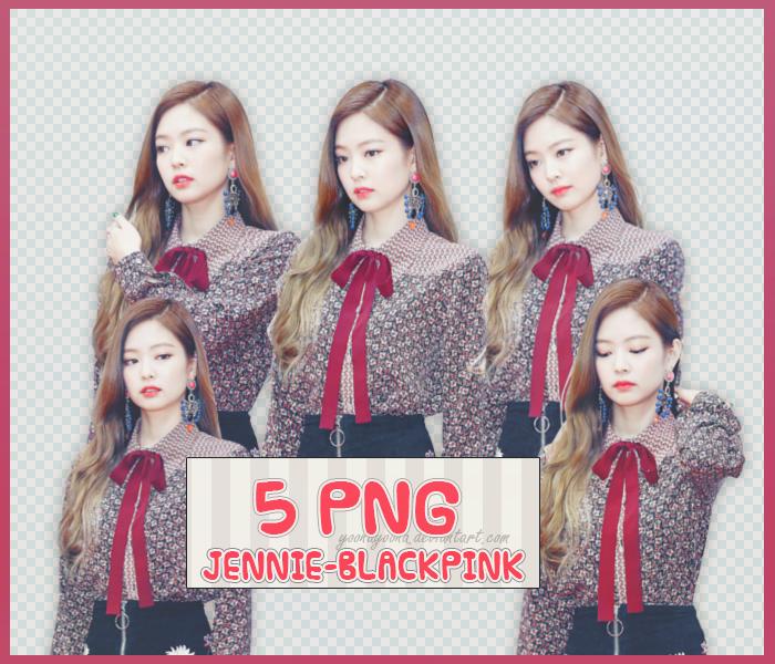 blackpink: jennie blackpink png pack