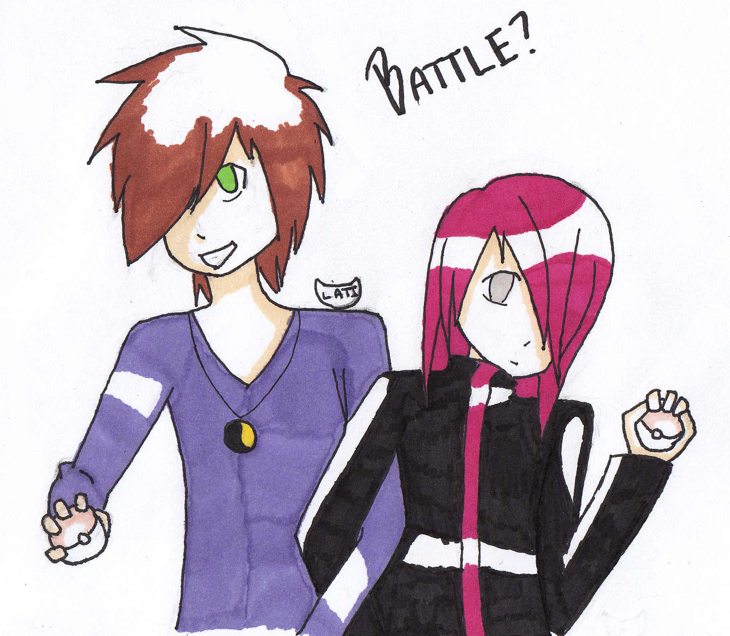 AT : Battle? by Lati-CA