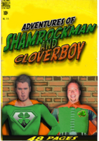 Shamrockman and cloverboy by Irishmile
