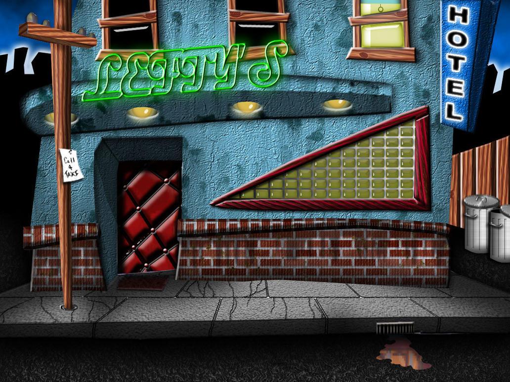 leftys bar by Irishmile