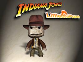 Indiana Jones Sackboy by Irishmile