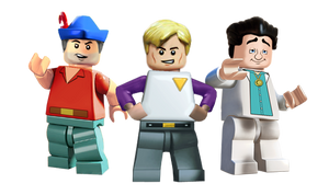 Lego Sierra Allstars 3 faves by Irishmile