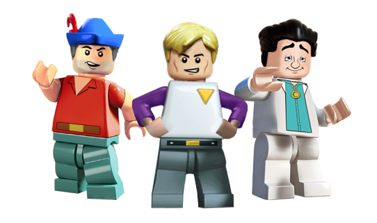 Lego Sierra Allstars 3 faves by Irishmile
