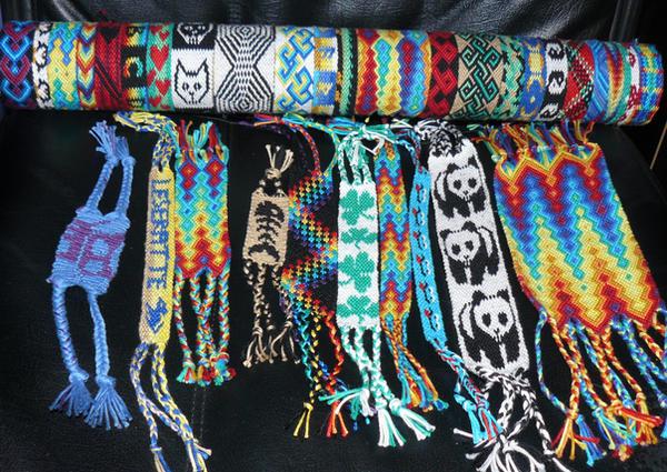 friendship bracelets by nimuae