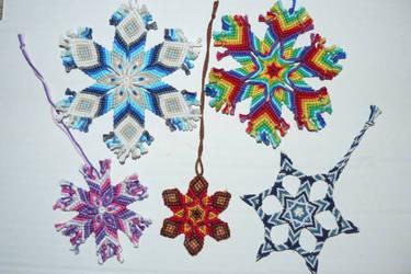 Stars and Snowflakes by nimuae