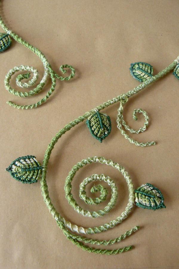 Secret Garden - Leaves Collier (Detail) by nimuae