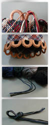 Pouch Tutorial Part V (Cord and finished Pouch) by nimuae