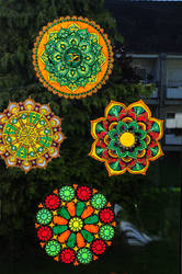 Window mandalas by nimuae