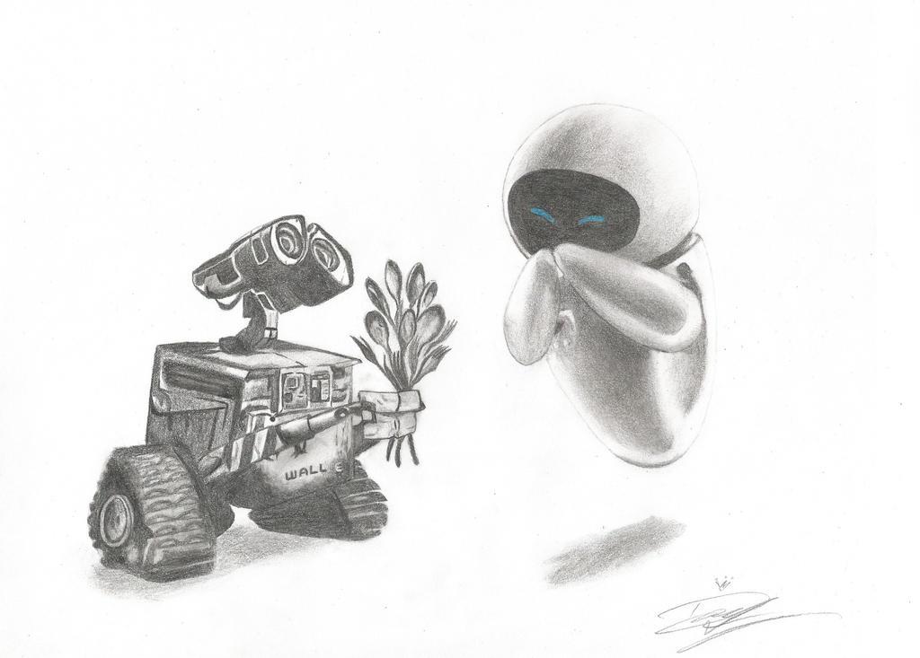 WALL-E by princederek