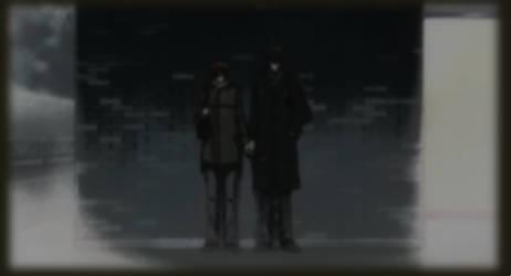 Ritsu Onodera (Oda) and Masamume Takano (Saga)