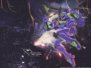 EVA-01 wallpaper