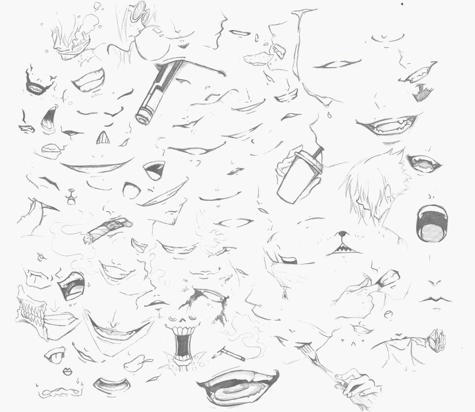 100 mouths guessing game by feenixdown on deviantart