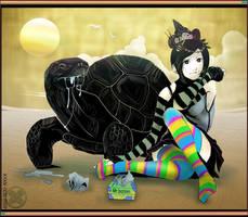 Rainbow-Girl by kyan-dog