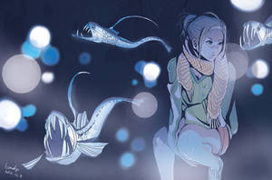 Sloane's viperfish by kyan-dog