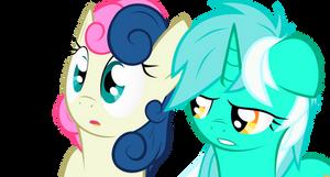 Lyra and Bon-Bon by KANISTORSHIK