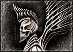 Cyberpunk-Skull
