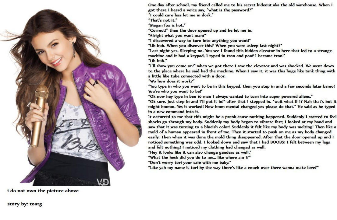 victorious tori tg caption by toatg