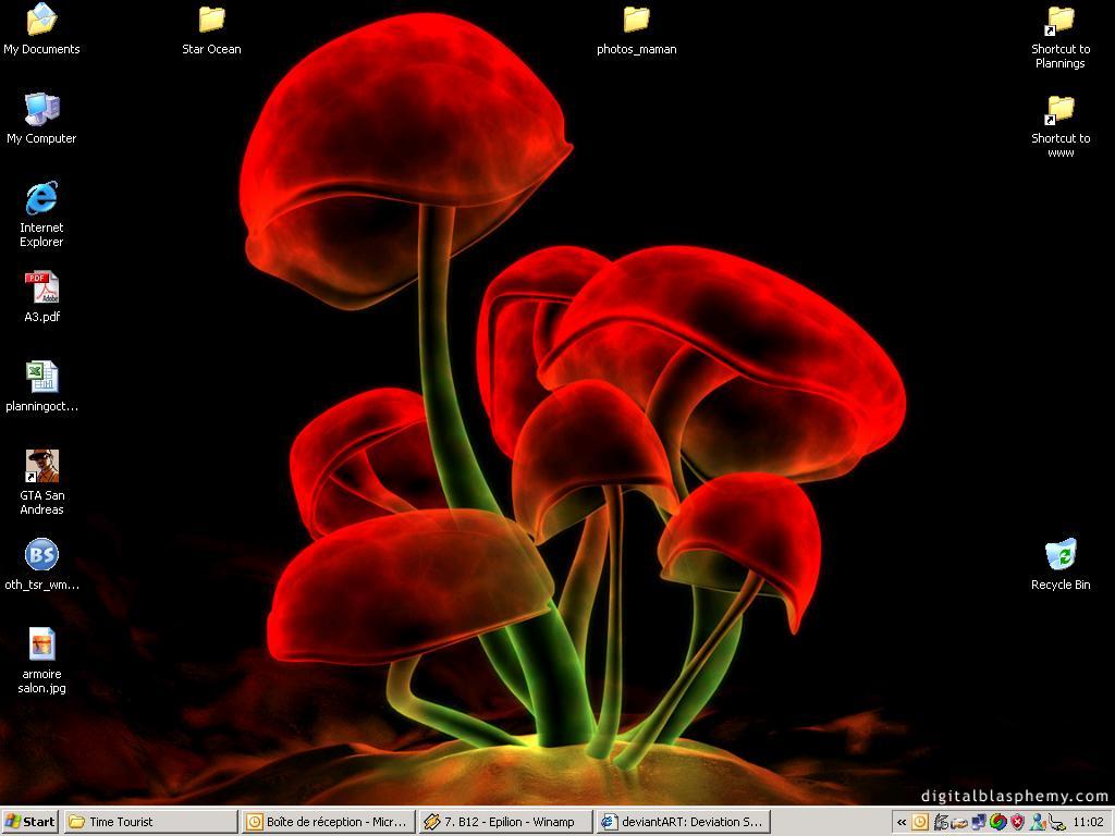 Screenshot of my laptop today