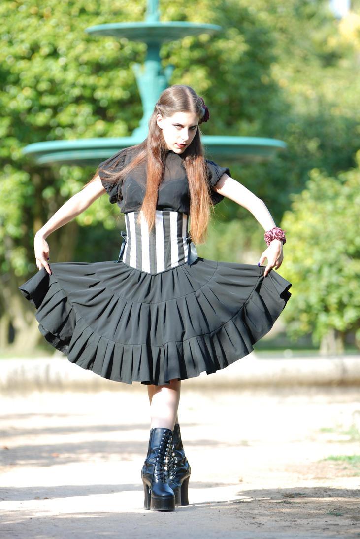 Gothic Ballerina by KahinaSpirit