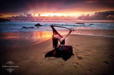 Magical Sunset by KahinaSpirit