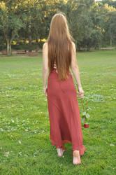 Crimson Rose III by KahinaSpirit