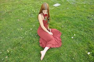 Crimson Rose XI by KahinaSpirit