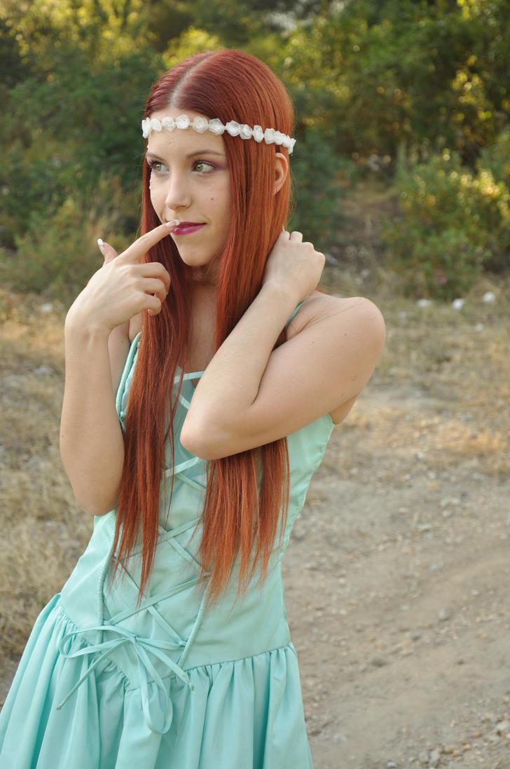 Turquoise Elf Stock IX by KahinaSpirit