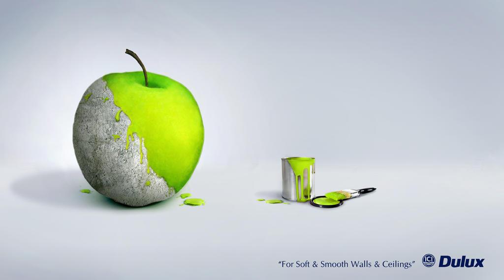 Dulux Paint Advert