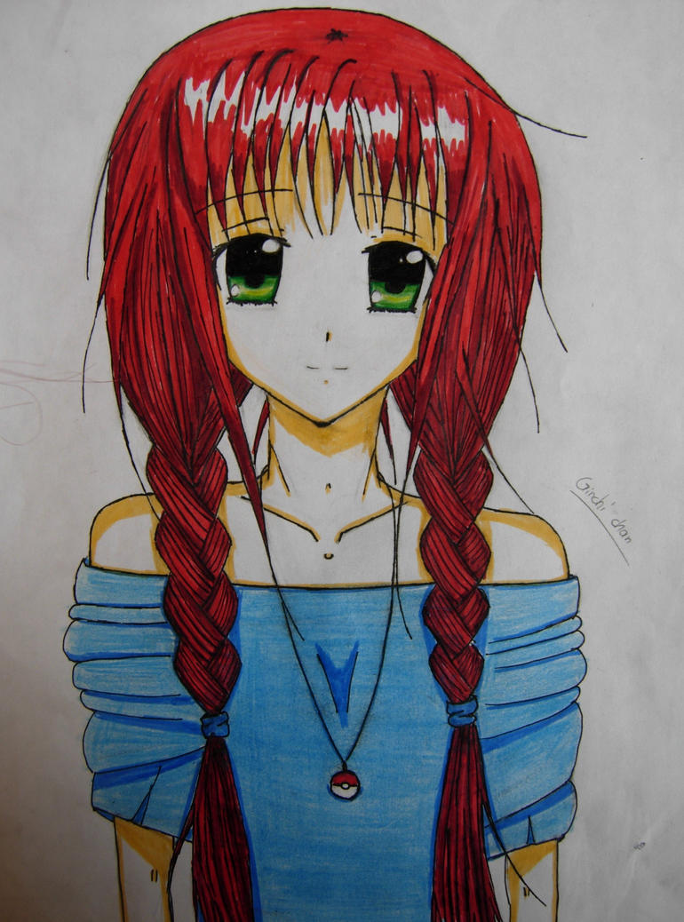 N Anime Character : Me as an anime character by ginchi chan on deviantart
