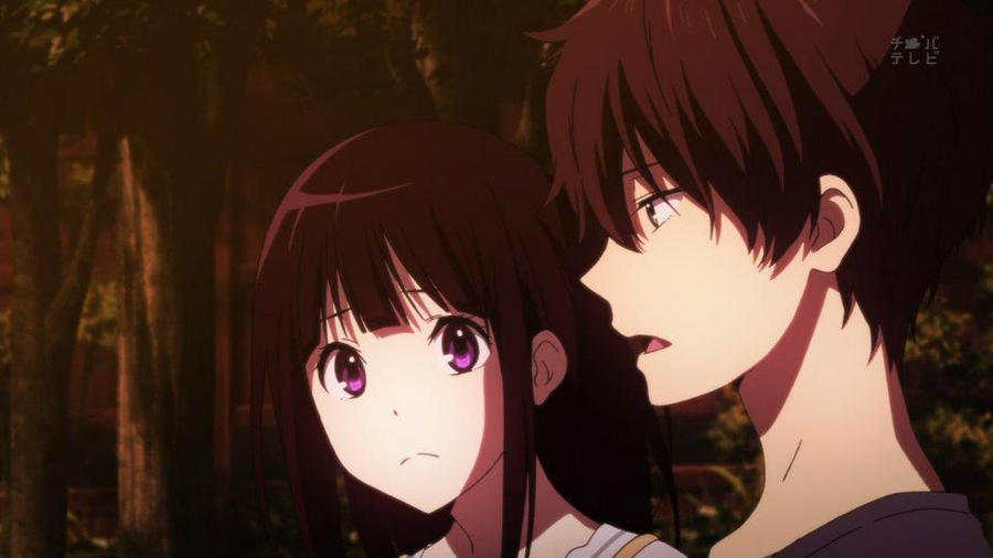 Hyouka is an anime series that will probably not get another season due to not enough source material.