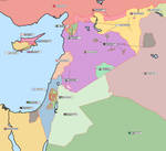 Real and accurate map of the Levant (2021)