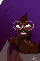 Vampire Glasses (Chromatic Abberation) by lonebunny95